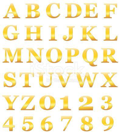 Letter Golden Child Lettres De L Alphabet Or Comprennent Les Chiffres Isol 233 S Sur Blanc Photos Freeimages