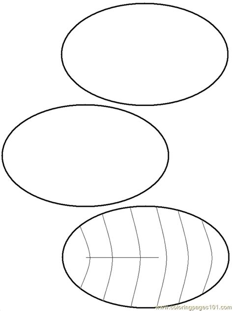 Free Coloring Pages Of Ovals Oval Coloring Page