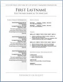Free Resume To by Free Resume Templates Word Cyberuse