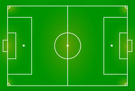 gambar dan ukuran lapangan sepak bola terbaru dan benar pojok ilmu