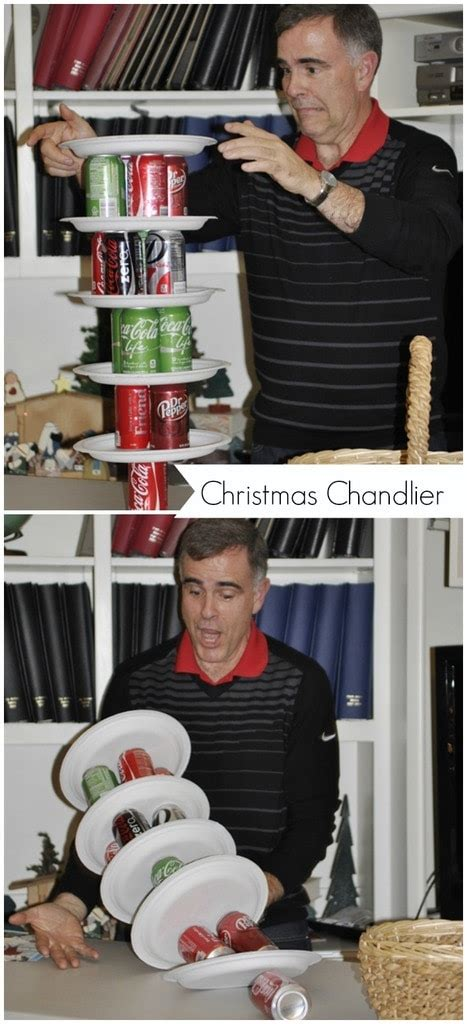 Even More Christmas Minute To Win It Games Your Minute To Win It Chandelier
