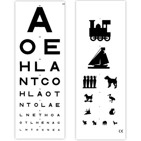 vision test eye test chart 6 metre distance sports supports