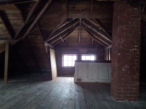 house attic foursquare attic finished the attic comes complete with