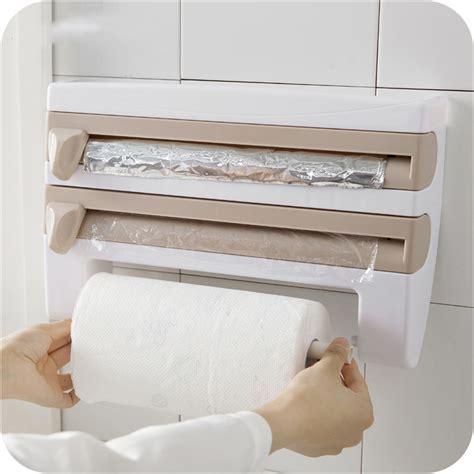 rak organizer rak organizer tisu tin foil food wrap white