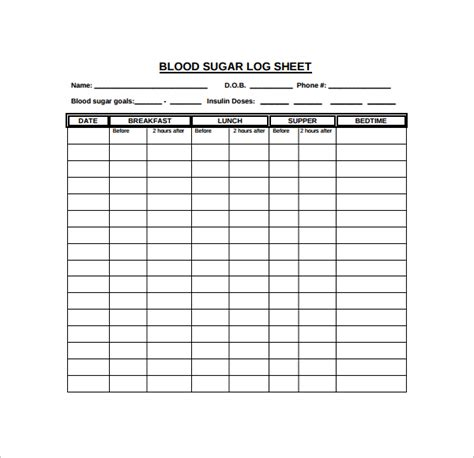 blood sugar log template pin free printable blood pressure calendar log firm pro on