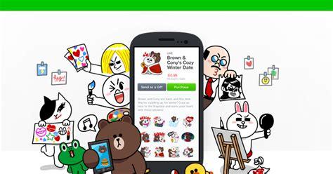 jasa membuat sticker line hangs breaker pengalaman membuat sticker line messenger