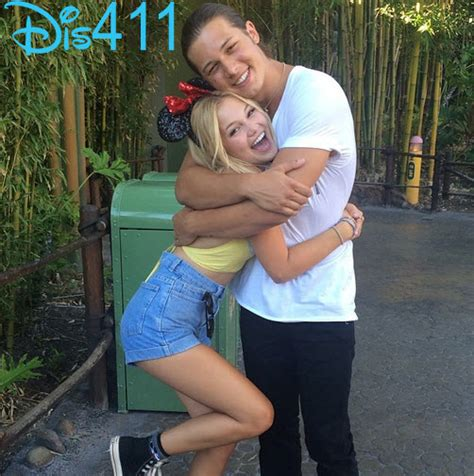 olivia holt and leo howard olivia holt pinterest photo olivia holt with leo howard on her birthday august