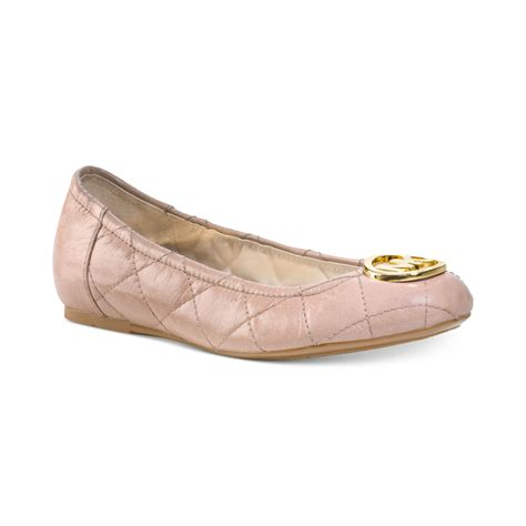 Michael Kors Fulton Quilted Ballet Flats by Michael Kors Michael Fulton Quilted Ballet Flats In Pink