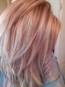 gold lowlights on hair rose gold lowlights google search hair pinterest