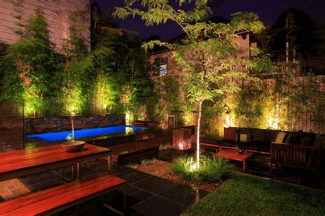 backyard lighting landscape lighting ideas gorgeous lighting to accentuate