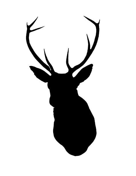 printable stencils deer deer stencils clipart best
