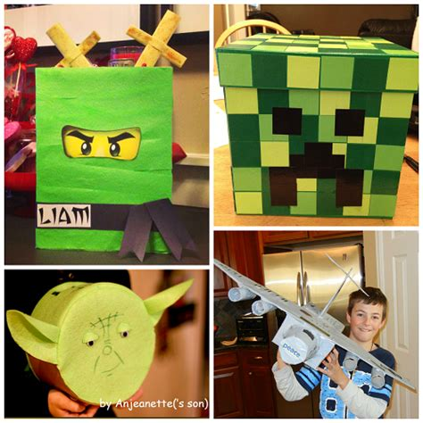 awesome valentines boxes awesome card boxes boys will crafty morning