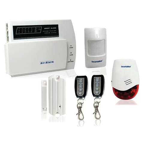 teklink securityman air alarm wireless home alarm security system