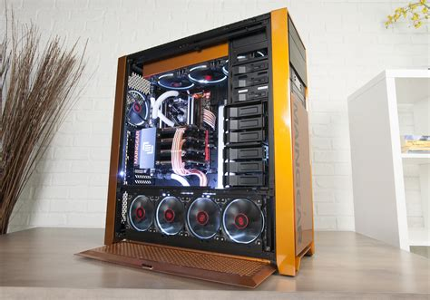 review maingear epic force     titan  cards pcworld