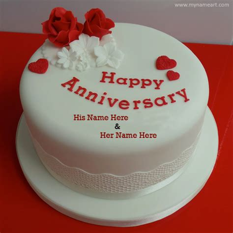 Wedding Anniversary Wishes Editing by Shape Anniversary Cake Pics With Name Wishes