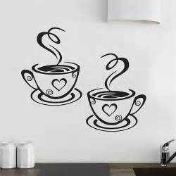 Wall Stickers Art aliexpress com buy new arrival beautiful design coffee