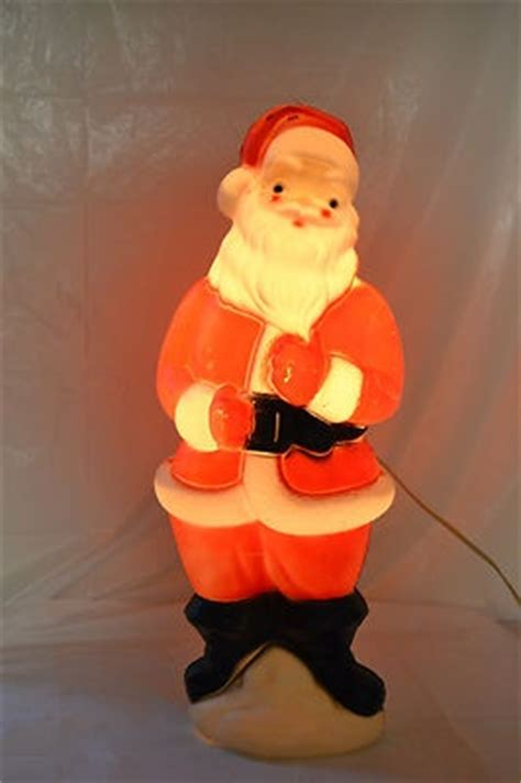 Outdoor Light Up Santa 35 Best Images About Vintage Blowmolds On Yard Decorations Vintage And