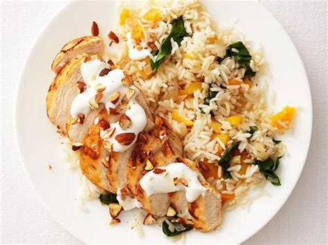 chicken and rice food middle eastern chicken and rice recipe food network kitchen food network