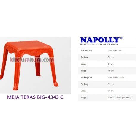 Daftar Meja Plastik Napoly meja plastik napoly bp 4343 agen napolly no 1 termurah