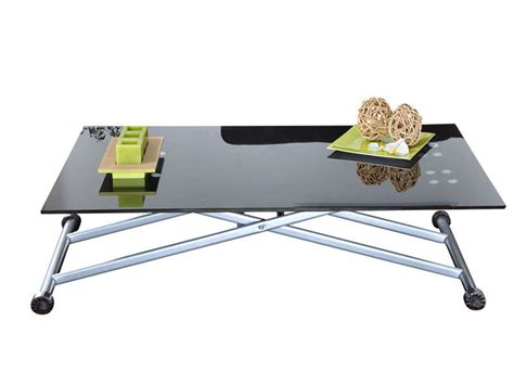 Table Basse Transformable Table Haute