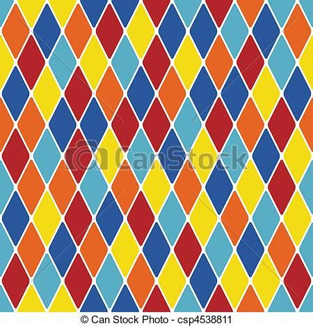 drawing harlequin pattern vector clip art of harlequin parti coloured seamless