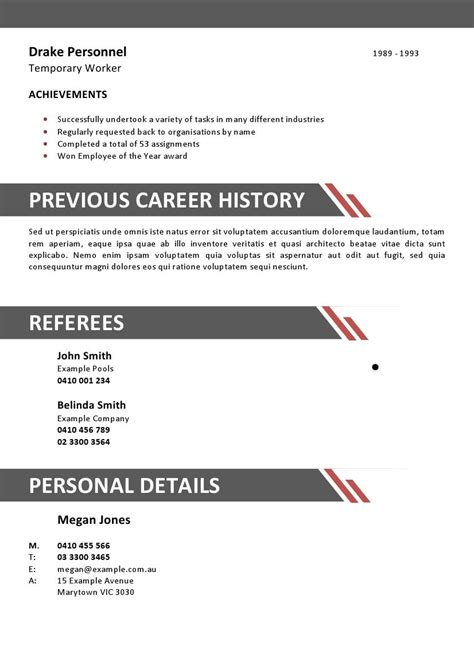 awesome hotel management resume format for experienced for resume
