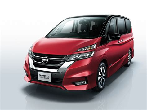 nissan serena nissan serena gets a new look features autonomous drive tech