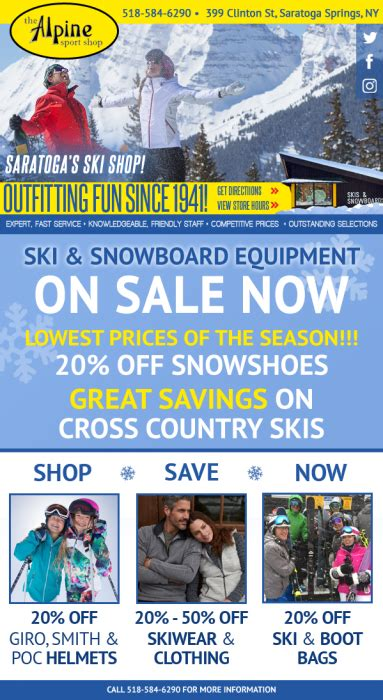 Winter Sale For Just The Two Of Us by Mid Winter Ski Sale Alpine Sport Shop