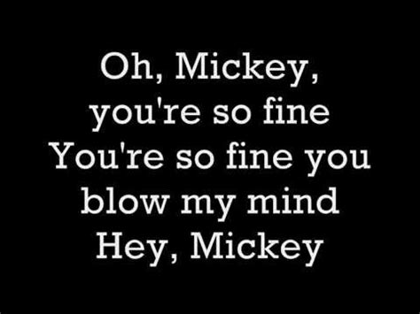 Hey You Re So Garage by Hey Mickey You Re So Song Myideasbedroom