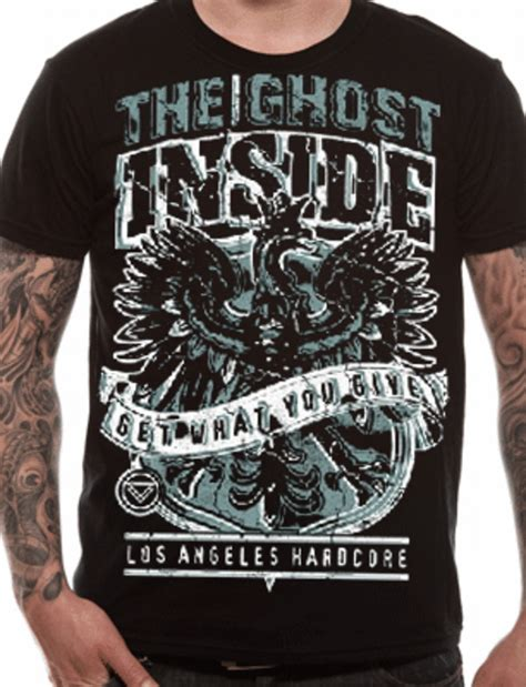T Shirt The Gost the ghost inside hierachy t shirt tm shop