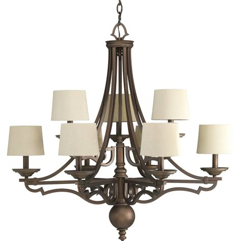Thomasville Chandeliers Thomasville Lighting P4568 Meeting Traditional 9 Light Chandelier Pg P4568