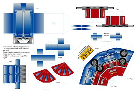 How To Make A Paper Transformer - 1000 images about birthday ideas on