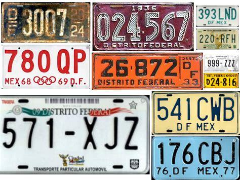 informacion de las nuevas placas en michoacan 2016 placas vehiculares del df historia y evoluci 243 n atraccion360