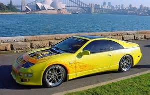 Yellow Nissan 300zx Yellow Flamed Z Nissan 300zx