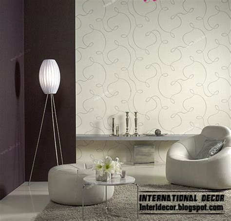 Wallpaper For Rooms by Modern Living Room Wallpaper Design Ideas Interior