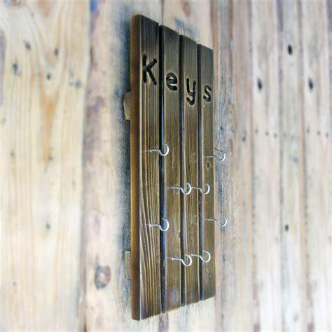 Gantungan Kunci Dari Belanda jual tempat gantungan kunci 8 hooks kayu jati belanda sigma kayu