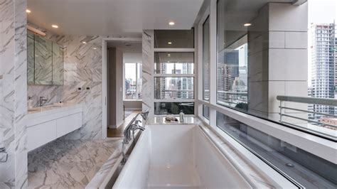 new bath credit inside a sky high duplex penthouse at the clare on the upper east side robb report