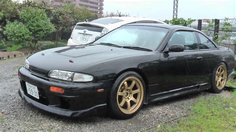 nissan 240sx s14 modified modified nissan silvia s14 240sx japan youtube