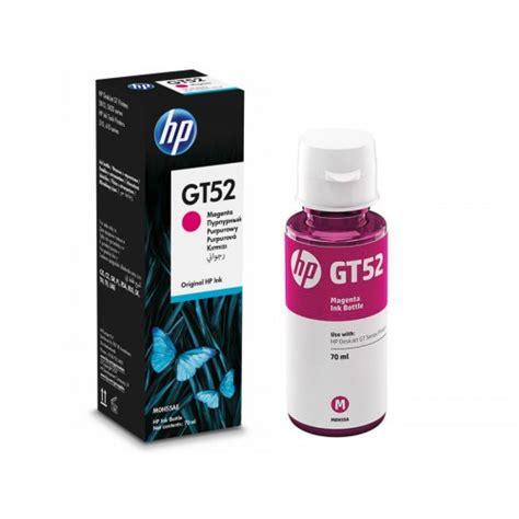Tinta Gt52 Botella De Tinta Hp Gt52 Magenta Para Tinta Continua M0h55al