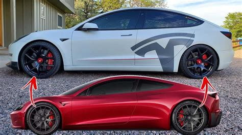 2020 tesla model 3 how about some 2020 tesla roadster wheels for your model 3