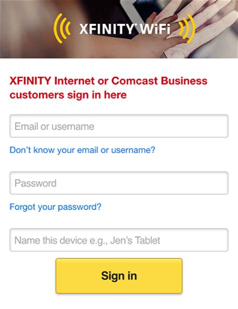 xfinity wifi connecting your devices to xfinity wifi