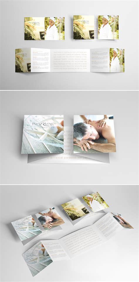 Unique Brochure Designs by Collection Of Appealing Spa Brochure Design Ideas Naldz