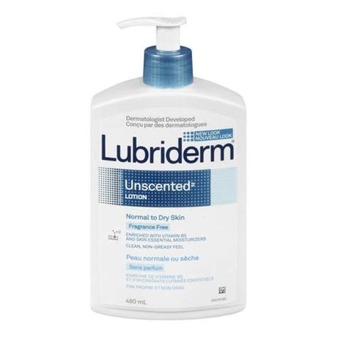 tattoo care unscented lotion lubriderm 174 unscented 174 normal to dry skin fragrance free