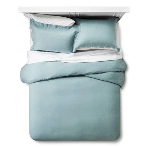 Linen Sets With Duvet Covers Linen Duvet Cover Sham Set King Gray Fieldcrest Ebay