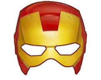 printable iron man helmet ironman template clipart best