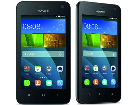 Huawei Y3 is the UK's lowest priced smartphone, now on