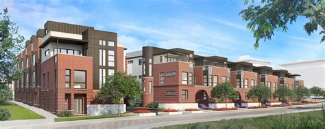 23 unit townhome project for rino denver urban review