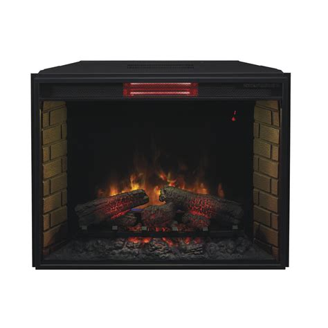 insert fireplace electric classicflame 33 in infrared spectrafire plus electric