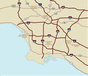california la map maps update 728409 tourist attractions map in los