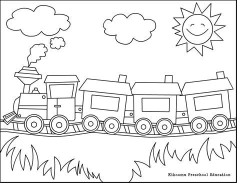 long train coloring page coloriage train les beaux dessins de transport 224